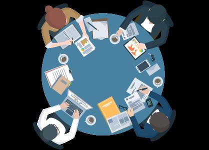 様々な業種に対応したロゴマークデザインの対応イメージ
